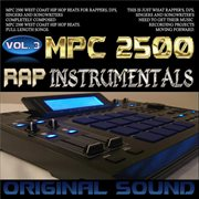 Mpc 2500 rap instrumentals, vol. 3 cover image