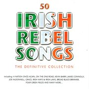 50 irish rebel songs cover image