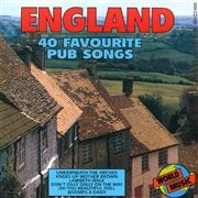 England - 40 favourite pub songs cover image
