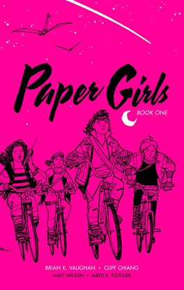 Cover image for Paper Girls: Deluxe Edition Book One