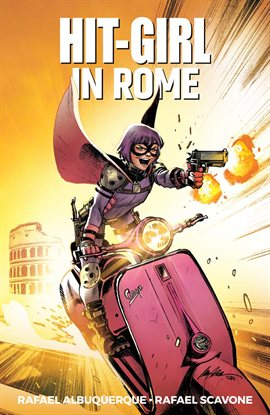 Cover image for Hit-Girl Vol. 3: Rome