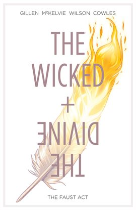 The Wicked + The Divine, book cover