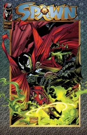 Spawn. Issue 50 cover image