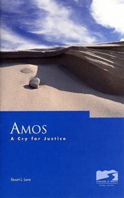 Amos : a cry for justice cover image