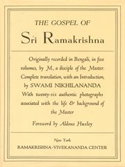 Gospel of sri ramakrishna cover image