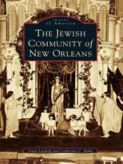 The Jewish community of New Orleans cover image
