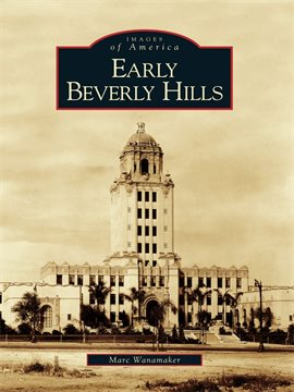 Cover image for Early Beverly Hills
