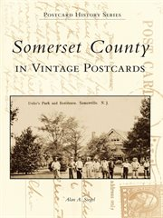 Somerset county in vintage postcards cover image