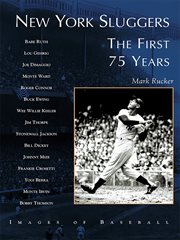 New York sluggers the first 75 years cover image