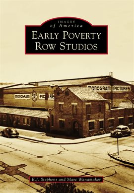 Cover image for Early Poverty Row Studios