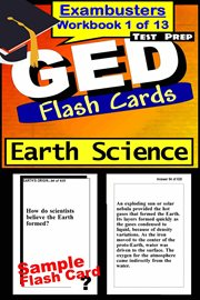 Ged Test Prep Earth Science Review--exambusters Flash Cards--workbook 1 of 13