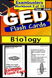 Ged Test Prep Biology Review--exambusters Flash Cards--workbook 2 of 13