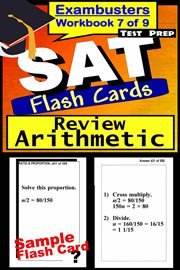 SAT Exambusters Flash Cards