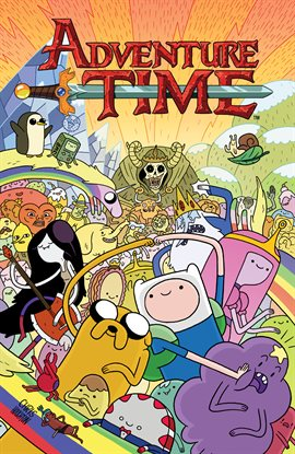 Adventure Time, book cover
