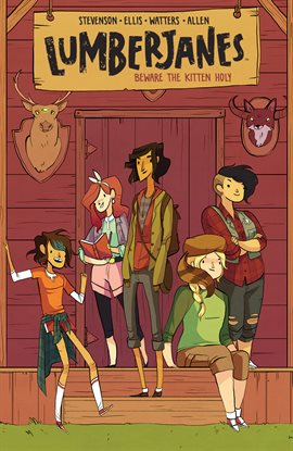 Lumberjanes, book cover