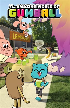 Cover image for The Amazing World of Gumball Vol. 2