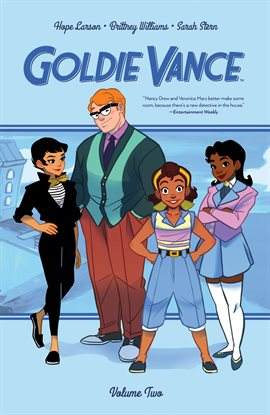 Cover image for Goldie Vance Vol. 2