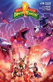 Mighty Morphin Power Rangers. Issue 14 cover image