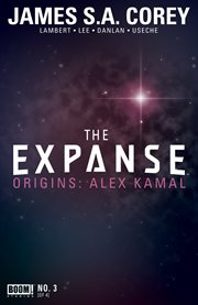 The expanse origins. Issue 3 cover image