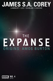 The expanse origins. Issue 4 cover image