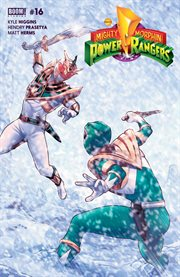Mighty Morphin Power Rangers. Issue 16 cover image