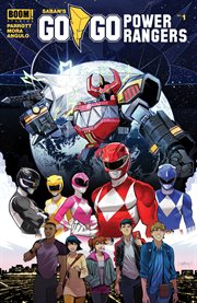 Saban's go go power rangers. Issue 1 cover image
