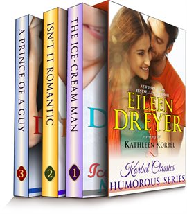 Cover image for Korbel Classic Romance Humorous Series - Three Complete Contemporary Romance Novels in One