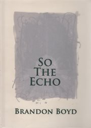 So the echo cover image