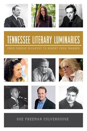 Tennessee literary luminaries cover image