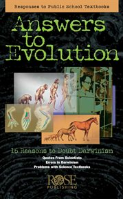 Answers to evolution cover image