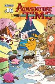 Adventure time. Issue 16 cover image