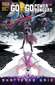 Saban's go go power rangers. Issue 11 cover image