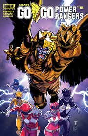 Saban's go go power rangers. Issue 18 cover image