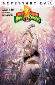 Saban's go go Power Rangers. Issue 40 cover image