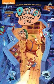 Rocko's modern life. Issue 4 cover image
