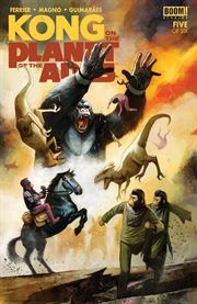 Kong on the planet of the apes. Issue 5 cover image