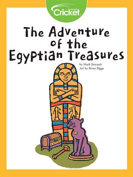 Cover image for The Adventure of the Egyptian Treasures