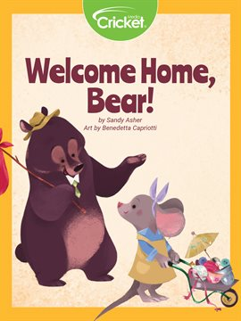 Cover image for Welcome Home, Bear!