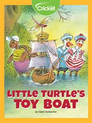 Little turtle's toy boat cover image