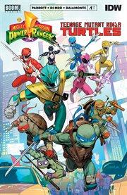 Mighty Morphin Power Rangers/Teenage Mutant Ninja Turtles #1. Issue 1 cover image