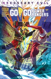 Saban's go go power rangers. Issue 27 cover image