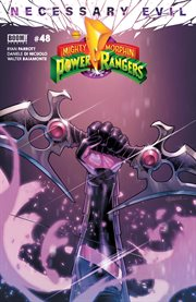 Mighty Morphin Power Rangers. Issue 48, Necessary evil cover image