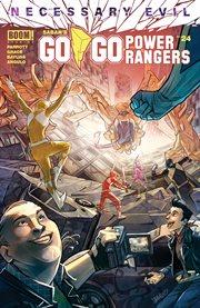 Saban's go go Power Rangers. Issue 24, Necessary evil cover image