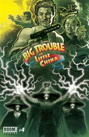 Big trouble in little China. Issue 4, Volume two cover image