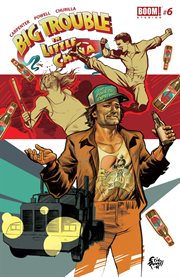 Big trouble in little China. Issue 6. Volume two cover image