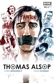 Thomas Alsop : the hand of the island. Issue 5 cover image