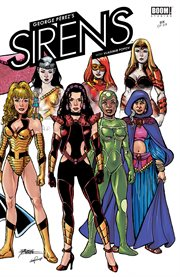 George Perez's sirens. Issue 6 cover image