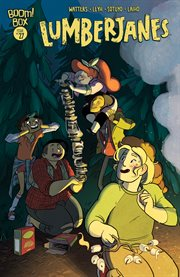 Lumberjanes. Issue 27, Sparrow a moment cover image