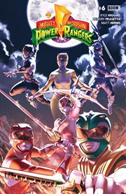 Mighty Morphin Power Rangers. Issue 6 cover image
