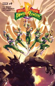 Mighty Morphin Power Rangers. Issue 9 cover image